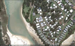 berarra beach google earth view