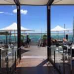 Portside Cafe's view from access ramp